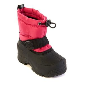 GIRLS FROSTY WATERPROOF ALL WEATHER SNOW BOOTS